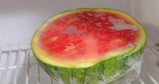روش نگهداری از هندوانه در منزل